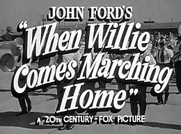 When Willie Comes Marching Home title from trailer.jpg