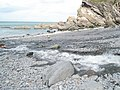 Where the Heddon meets the sea - geograph.org.uk - 916551.jpg