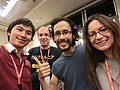 Wikimania 2017 by Deryck day 0 - 09 Cambridge people.jpg