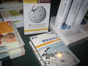 German Wikipedia - The 2005 DVD/book version of German Wikipedia.