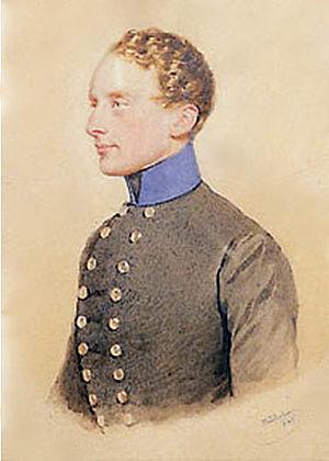 William Albert, 1st Prince of Montenuovo - Portrait circa 1850