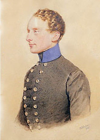 William Albert, 1st Prince of Montenuovo - Portrait circa 1850