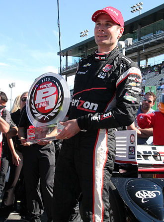 Will Power - Power won the Verizon P1 Award for taking the pole at the 2015 GoPro Grand Prix