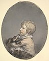 William Evelyn of St Clere, Kent, Holding a Spaniel MET DP829473.jpg