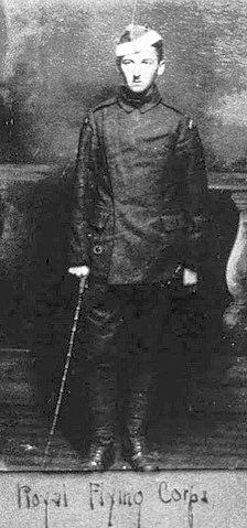Кадет Фолкнер в Торонто, 1918 год