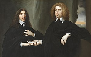 John Maitland, 1st Duke of Lauderdale - John Maitland (right) with William Hamilton, 2nd Duke of Hamilton (left) in 1649