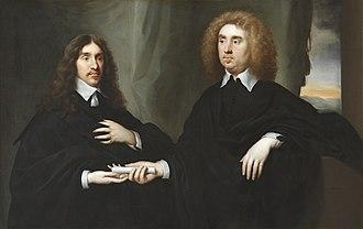 John Maitland, 1st Duke of Lauderdale - John Maitland (right) with William Hamilton, 2nd Duke of Hamilton (left) in 1649