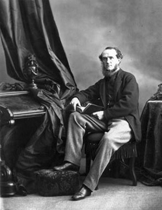 William Notman - A self-portrait of William Notman, c. 1866–1867