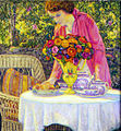 Wilson Henry Irvine Tea Party with the Artists Daughter Lois.jpg