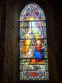 Wissous (91), église Saint-Denis, chœur, vitrail n° 1 - l'Annonciation.jpg