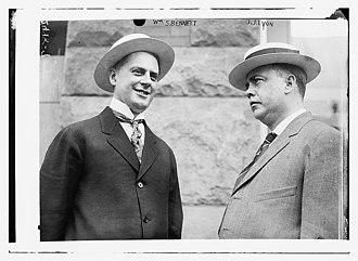 John J. Lyons - William Stiles Bennet and John J. Lyons c. 1912–1913