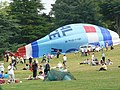 Wollaton Hall on Armed Forces Day RAF Balloon down - geograph.org.uk - 1381581.jpg