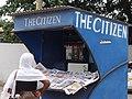 Woman at The Citizen Newsstand - Oyster Bay District - Dar es Salaam - Tanzania.jpg