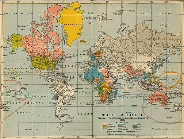 Pre Wwi World Map.List Of Countries By Population In 1907 Wikipedia