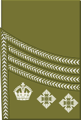 World War I British Army colonel's rank insignia (sleeve, Scottish pattern).png