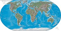 Map of Earth