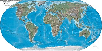 Map - World map (2004, CIA World Factbook)