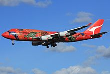 Wunala Dreaming on short finals at London Heathrow Airport.jpg