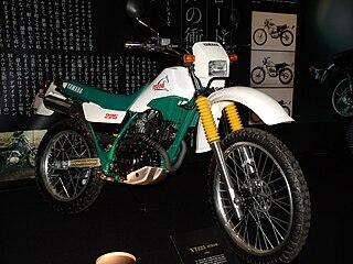Yamaha XT225 motorcycle