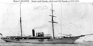 USS Narada (SP-161) - Image: Yacht Narada (1889)