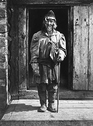 Yakuts - Yakut elder, early 20th c.