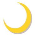 Yellow Crescent, Symbol of Islam.png