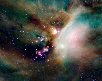 Young stellar object - Image: Young stellar objects in the Rho Ophiuchi cloud complex