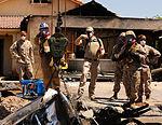 Yuma Marines Commence Cleanup at AV-8B Harrier Crash Scene in Imperial, Calif. 140607-M-BK311-001.jpg