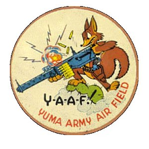 Marine Corps Air Station Yuma - Patch from the Flexible Gunnery School, Yuma AAB