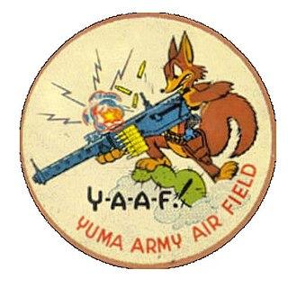 Marine Corps Air Station Yuma - Patch from the Flexible Gunnery School, Yuma AAB
