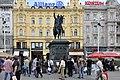 Zagreb Trg Ban Jelacic market.jpg