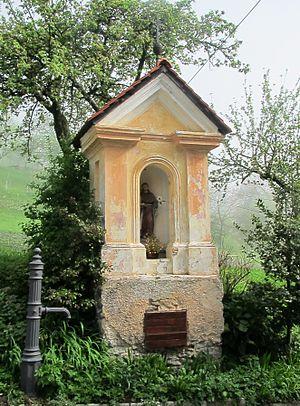 Zakriž - Wayside shrine