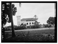 Zanzibar. A seaside palace of the sultan. Back view LOC matpc.07423.jpg