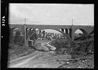 Zionist activities around Haifa. Hadar Ha Carmel. A concrete viaduct. (Factory, symbolic of development) LOC matpc.15209.jpg
