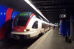 Stadler FLIRT - RABe 522 of the Swiss Federal Railways