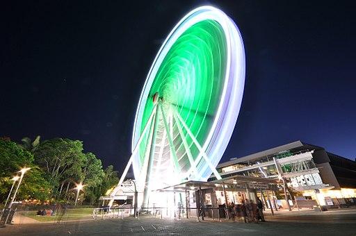 """Spinning2"" - Wheel of Brisbane (6586693905)"