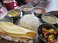 '7' An Eastern Indian Thali, traditional style of serving food in India.jpg