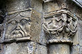 'Berfrestone' (DB) portal capital St Nicholas Church Barfrestone Kent England 2B.jpg