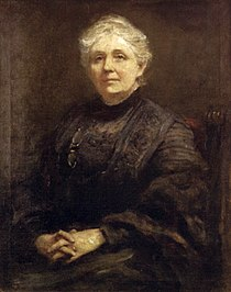 'Portrait of Anna Rice Cooke', oil on canvas painting by Frederic Yates (1854-1919), 1910, Honolulu Academy of Arts.jpg