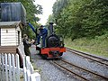 'Sergeant Murphy' taking on water at the Teifi Valley Railway - geograph.org.uk - 395909.jpg
