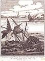 't Verongelukken van't O.J. Comp. Retourschip Woestduijn voor Zeeland op de Noorder Rasse, den 24 July 1779 RMG PU6347.jpg