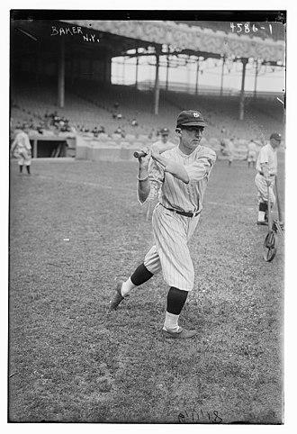 Home Run Baker - Baker in 1919