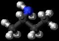 (S)-sec-Butylamine molecule ball.png