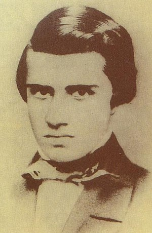 "Alvares de Azevedo is one of the most well-known Ultra-Romantic Brazilian poets, winning the epithet of ""the Brazilian Lord Byron"" Alvares de Azevedo.jpg"