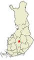 Äänekoski sijainti 2007.PNG
