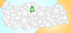 Çorum Turkey Provinces locator.jpg