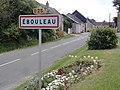 Ébouleau (Aisne) city limit sign.JPG