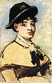 Édouard Manet - Jeune femme à la pélerine.jpg