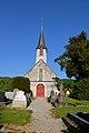 Église Saint-Désir de Fierville-les-Parcs. Vue ouest.jpg
