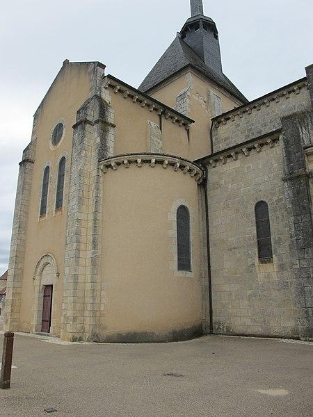 Église de Meobecq, France - 3